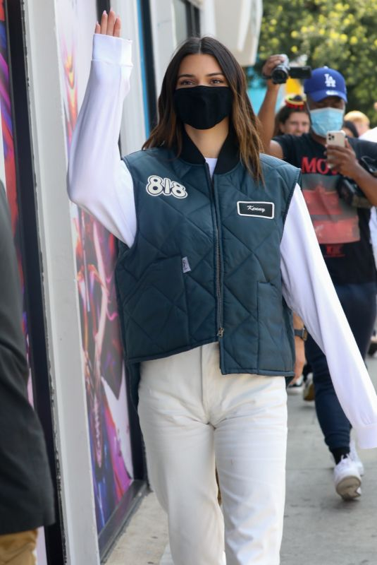KENDALL JENNER Promotes 818 Tequila in Los Angeles 05/17/2021