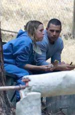 KRISTEN BELL and Benjamin Levy Aguilar Out in Los Feliz 05/07/2021