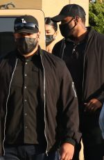 KYLIE JENNER, Fai Khadra and Zack Bia at Nobu in Malibu 05/22/2021