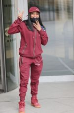 LADY LESHURR at BBC Studios in London 05/15/2021