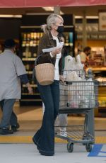 LAETICIA HALLYDAY at Grocery Shopping in Los Angeles 05/18/2021
