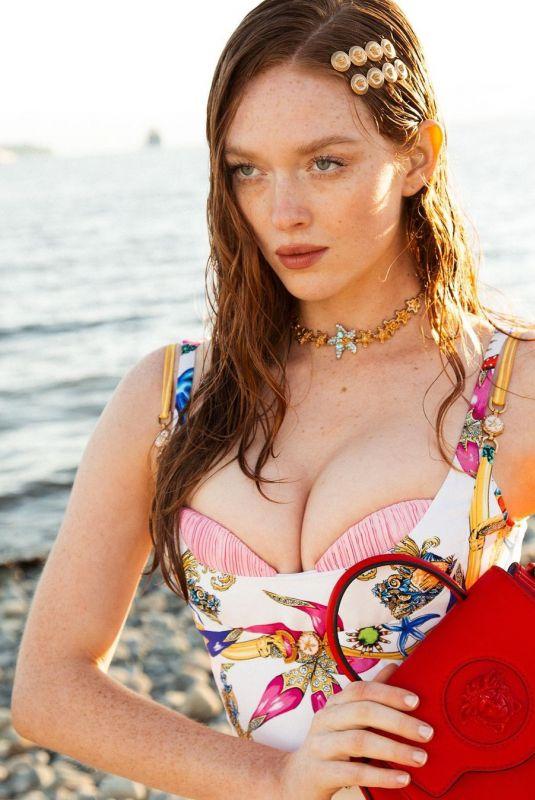 LARSEN THOMPSON for Versace, May 2021