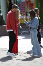 LAURA WHITMORE on the Set of Love Island in London 05/15/2021