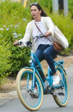 LAUREN SILVERMAN at a Bike Ride in Montecito 05/13/2021