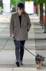 LILI REINHART Out with Her Dog in Vancouver 05/27/2021