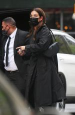 LILY ALDRIDGE Out and About in New York 05/07/2021