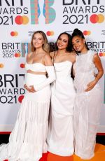 LITTLE MIX at 2021 Brit Awards in London 05/11/2021