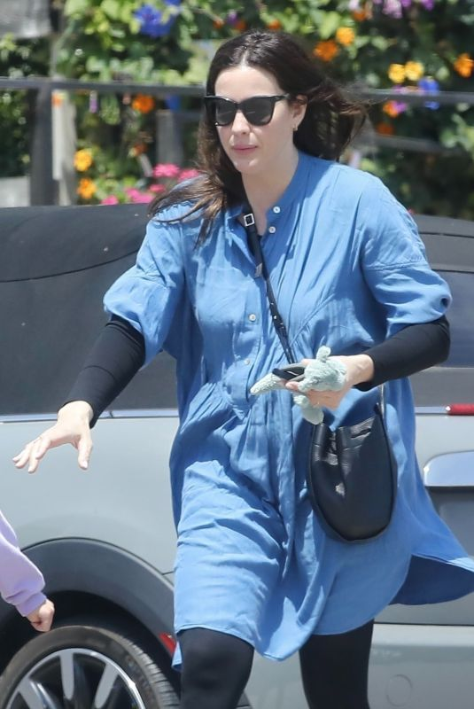 LIV TYLER Out for Lunch in Malibu 05/15/2021