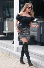 LIZZIE CUNDY at Local Hot Tub Centre in London 05/07/2021