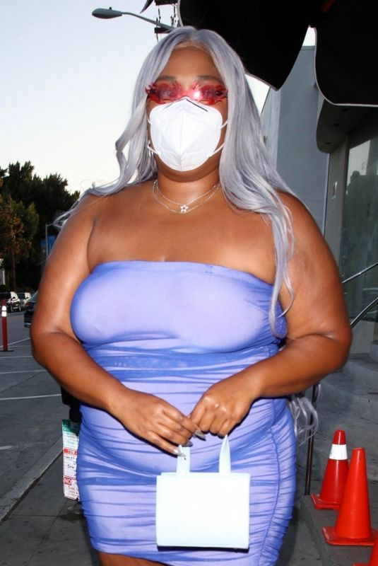 LIZZO at Catch LA in West Hollywood 05/22/2021