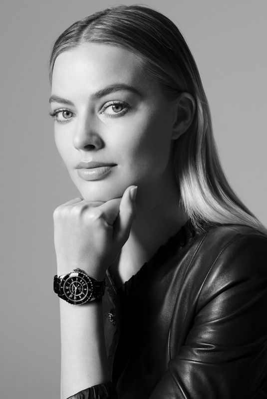 MARGOT ROBBIE for Chanel J12 2021 Campaign