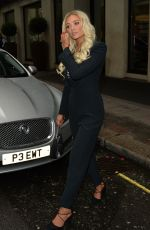 MAURA HIGGINIS and LUCIE DONLAN Night Out in Mayfair 05/17/2021