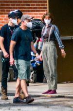 MAYA HAWKE on the Set of Stranger Things in Atlanta 05/05/2021