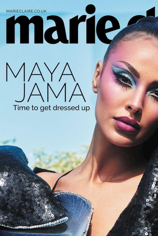 MAYA JAMA in Marie Claire Magazine, UK May 2021