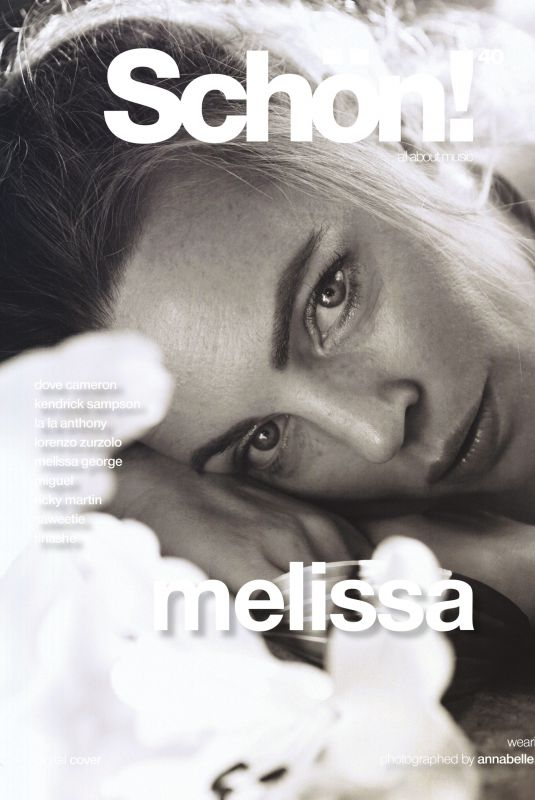 MELISSA GEORGE for Schon Magazine, May 2021