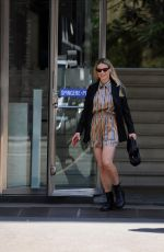 MICHELLE HUNZIKER Out and About in Milan 05/04/2021