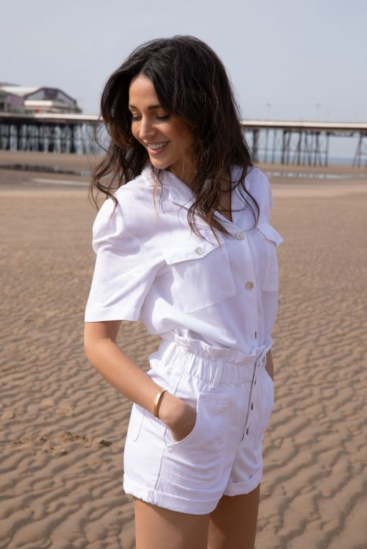 MICHELLE KEEGAN at Very Collection Photoshoot in Blackpool 05/16/2021