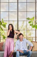 MILA KUNIS and Ashton Kutcher in Architectural Digest Magazine, June 2021