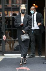 MILEY CYRUS Outside Bowery Hotel in New York 05/08/2021