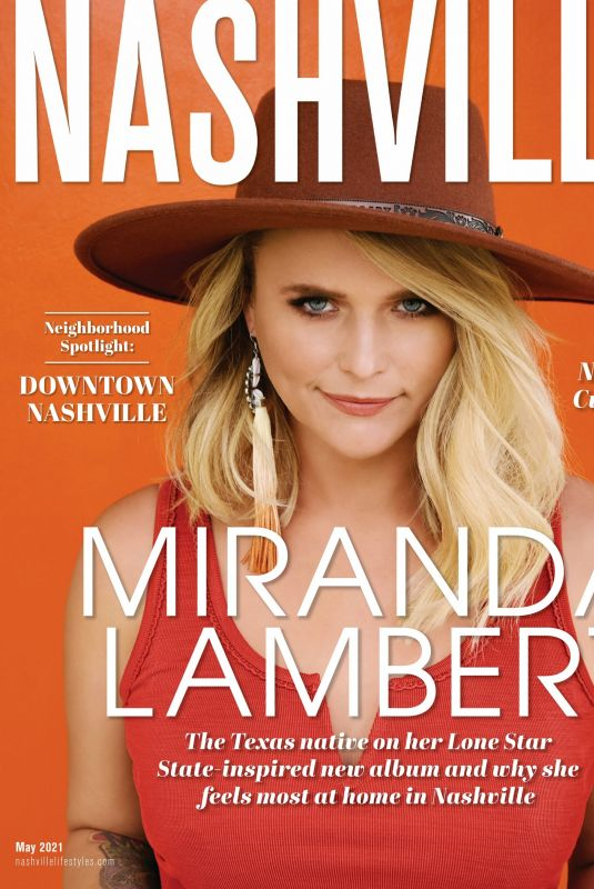 MIRANDA LAMBERT in Nashville Lifestyles Magazine, May 2021