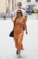 MOLLIE KING Arrives at BBC Radio in London 05/28/2021