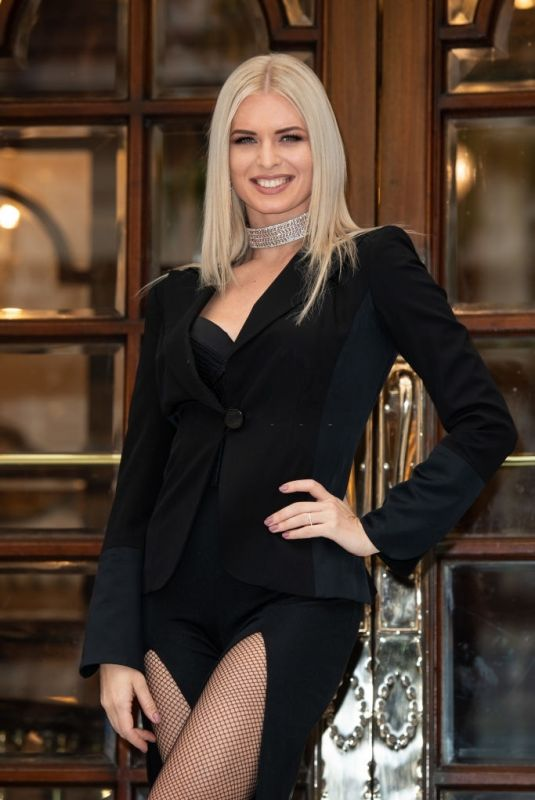 NADIYA BYCHKOVA at Here Come the Boys Opening Night in London Palladium 05/25/2021