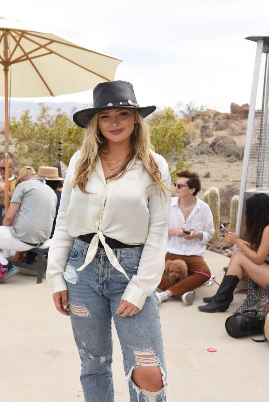NATALIE ALYN LIND at Caliwater Escape at Mojave Moon Ranch in Joshua Tree 05/01/2021