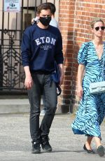 NICKY HILTON and James Rothschild Out in New York 05/02/2021