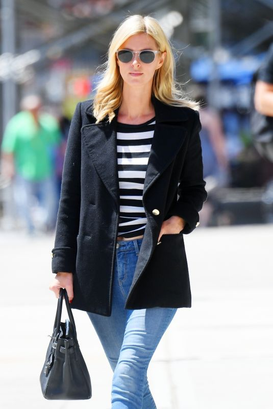 NICKY HILTON Out and About in New York 05/21/2021