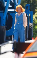 NICOLE KIDMAN on the Set of Being the Ricardos in Los Angeles 04/30/2021