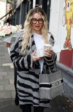 OLIVIA ATTWOOD on the Set of Olivia Meets Her Match in Cheshire 05/07/2021