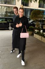 OLIVIA ATTWOOD Out for Lunch at The Ivy Restaurant in Manchester 05/06/2021