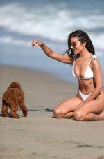 OLIVIA CULPO in a White Bikini at a Beach in Malibu 05/13/2021