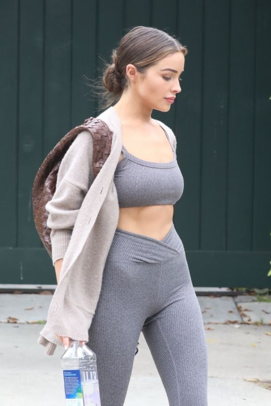 OLIVIA CULPO Leaves a Gym in Los Angeles 05/30/2021