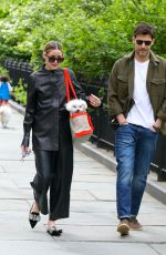 OLIVIA PALERMO Out and About in Brooklyn 05/07/2021