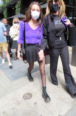 OLIVIA RODRIGO Arrives at Saturday Night Live Show in New York 05/15/2021