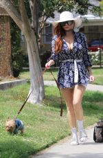 PHOEBE PRICE Out at a Park in Los Angeles 05/01/2021