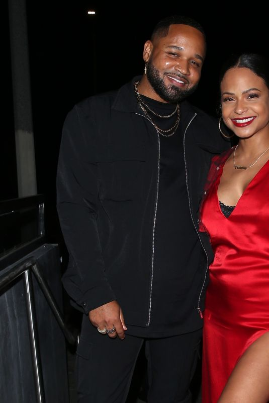 Pregnant CHRISTINA MILIAN at a Private Birthday Party at General Admission in Studio City 05/13/2021