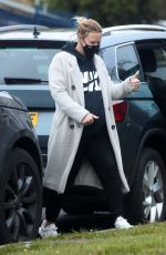 Pregnant KIMBERLEY WALSH Out in London 05/14/2021