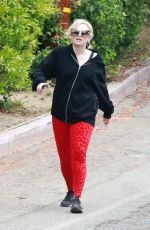 REBEL WILSON Out Hikinig at Griffith Park 05/17/2021