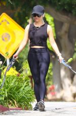 REESE WITHERSPOON Out with Her Dogs in Brentwood 05/01/2021