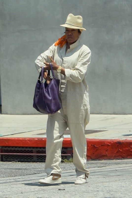 REGINA KING Out Shopping in West Hollywood 05/19/2021