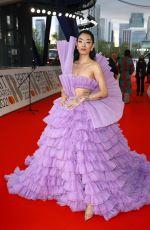 RINA SAWAYAMA at 2021 Brit Awards in London 05/11/2021