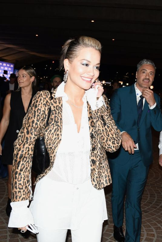 RITA ORA at RuPaul's Drag Race Down Under Wprld Preiere at Sydney Opera House 04/30/2021