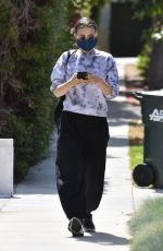 ROONEY MARA Heading to a Spa in Hollywood 05/20/2021
