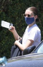 ROONEY MARA Leaves Art Class in West Hollywood 05/24/2021