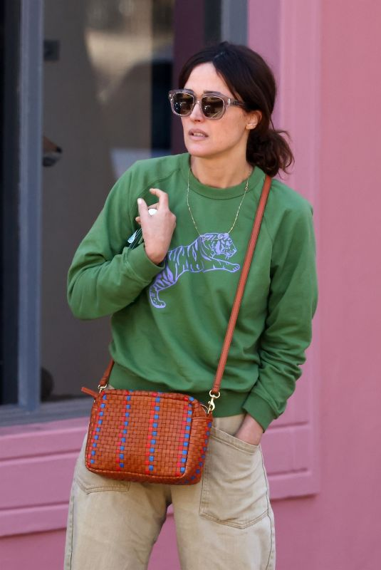 ROSE BYRNE Out and About in Sydney 05/25/2021