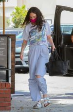 RUMER WILLIS at South Beverly Grill in Beverly Hills 05/25/2021