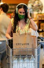 RUMER WILLIS Shopping at Erewhon Natural Markets in Los Angeles 05/11/2021