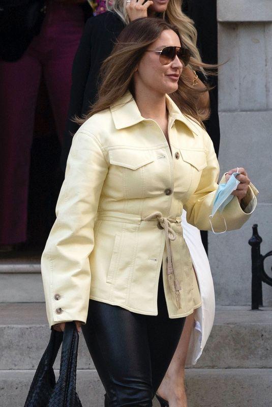 SAM FAIERS Leaves Annabel's Private Members Club in London 05/10/2021